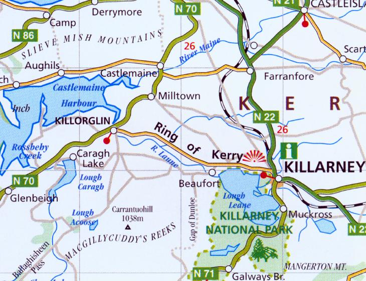 Killorglin Self Catering Holiday Homes the Ring of Kerry Ireland