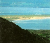 View from Mountain of Rossbeigh Beach and Countryside