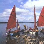 Sailing on Caragh Lake near Killorglin