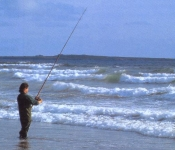 Sea Fishing at Rossbeigh,near Killorglin,Kerry