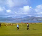 Golfing at Dooks Golf Links,Killorglin,Kerry