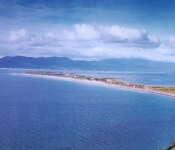 Rossbeigh Beach front, Blue Flag Beach ie. Top Quality, near Killorglin, Kerry.Ideal for swimming, sailing, surfing etc.